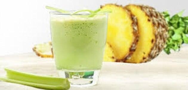 Celery kai ananas