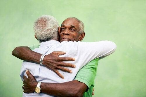 η δύναμη μιας αγκαλιάς