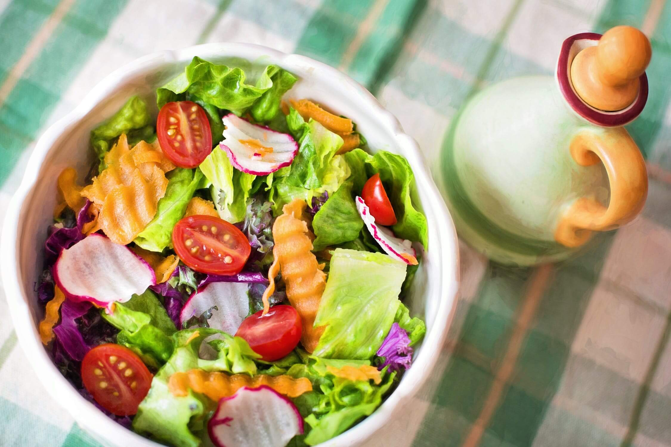 δείτε πως θα αποκτήσετε επίπεδο στομάχι, σαλάτα