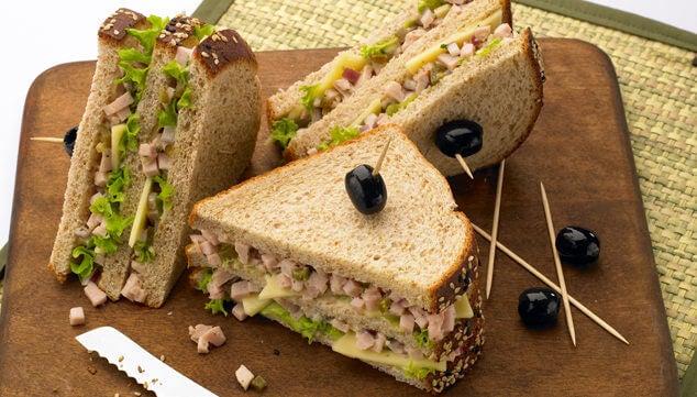 Υγιεινά πρωινά - Υγιεινό σάντουιτς