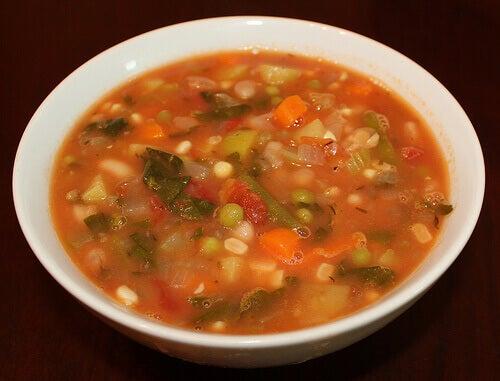 σούπες με λαχανικά