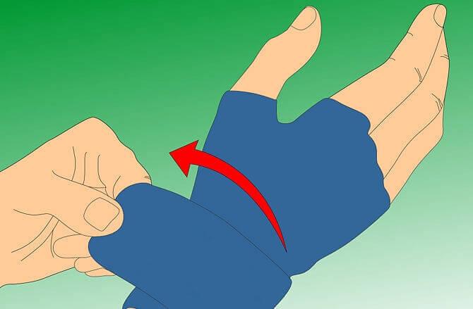 πρήξιμο των δακτύλων- γάντια συμπίεσης