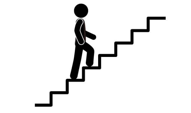 ασκήσεις για την υγεία- σκαλοπάτια