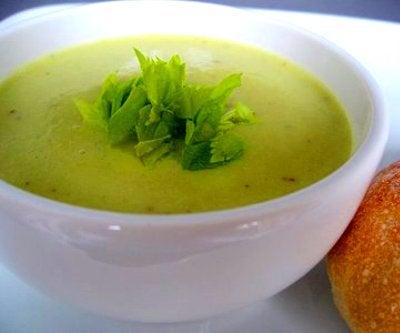 Σούπα για να χάσετε βάρος με το σέλινο