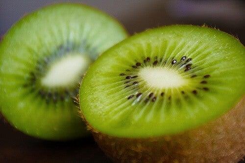 πράσινα ροφήματα με ακτινιδιο