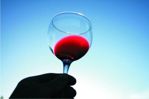 φυσικά ροφήματα - κόκκινο κρασί