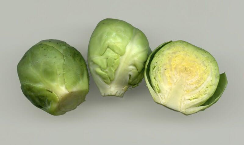 αντικαταθλιπτικές τροφές, λαχανάκια βρυξελλών