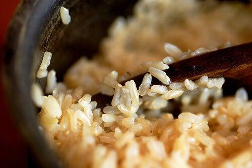 ρύζι για να καθαρίσετε το συκώτι