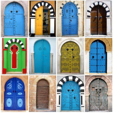 Τεστ προσωπικότητας - Πολύχρωμες πόρτες