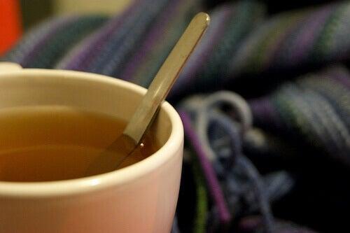 Βλέννα στους πνεύμονες - Τσάι