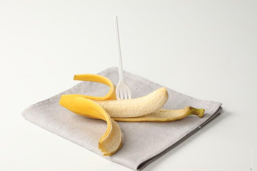 φρούτα για επίπεδη κοιλιά - μπανανα