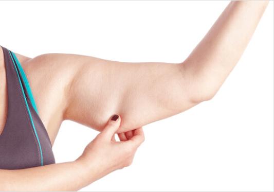 Χαλάρωση σε μπράτσα και πόδια - Χαλαρωμένο γυναικείο μπράτσο