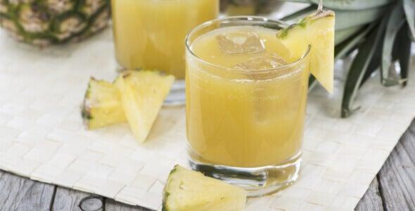 φρούτα για επίπεδη κοιλιά - ανανας