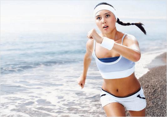 την κατακράτηση υγρών με ασκηση