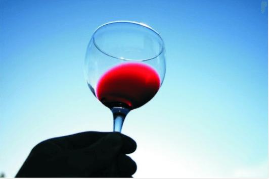 Το κόκκινο κρασί - Ένα ποτήρι κόκκινο κρασί