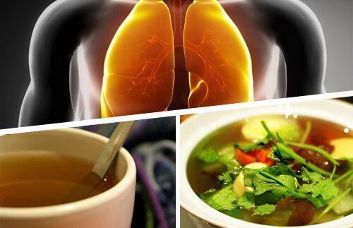 Σπιτικό σιρόπι για το βήχα - Ανδρικοί πνεύμονες, σιρόπι και σούπα