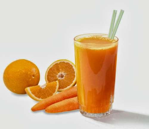συνδυασμοί φρουτοχυμών- καροτο πορτοκαλι
