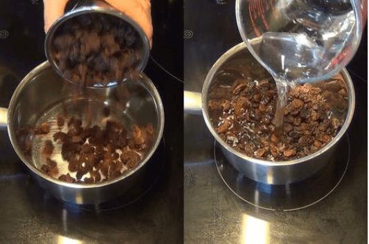 Καθαρισμός του ήπατος με νερό από σταφίδες