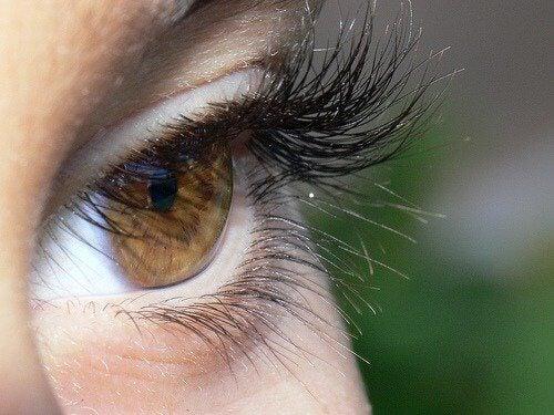 μεγαλύτερα μάτια, παχιές βλεφαρίδες