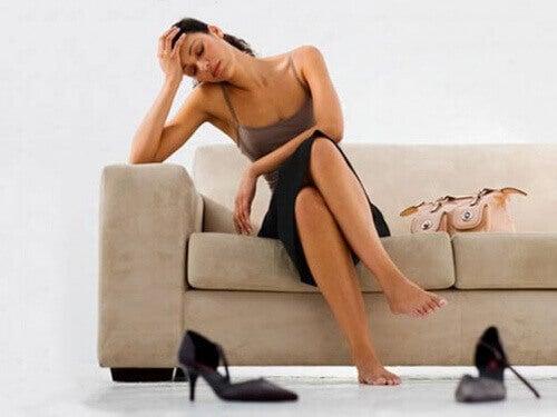 Συμπτώματα του καρδιακού φυσήματος - κούραση
