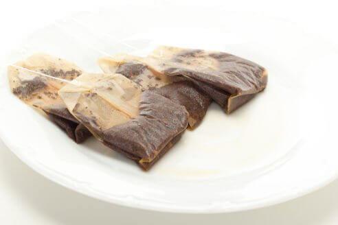 μαγειρικά σκεύη με σακουλακια τσαγιου