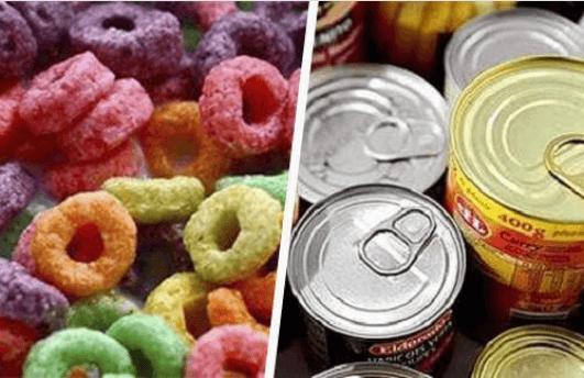 επεξεργασμένες τροφές - λίπος της κοιλιάς με