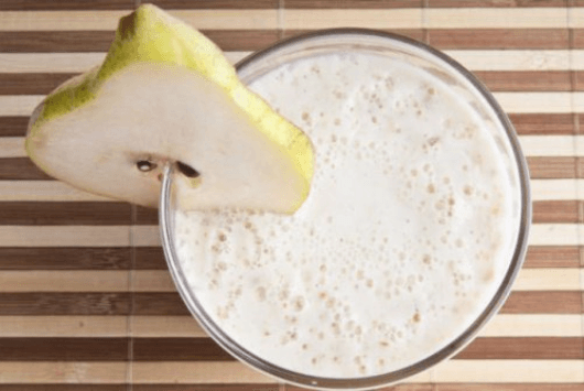 βρώμη με αχλάδι, μείωση της χοληστερόλης