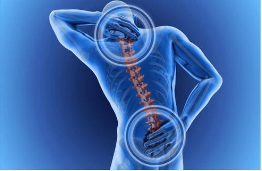 Αισθανόμαστε πόνους στην πλάτη - Ανθρώπινη σπονδυλική στήλη