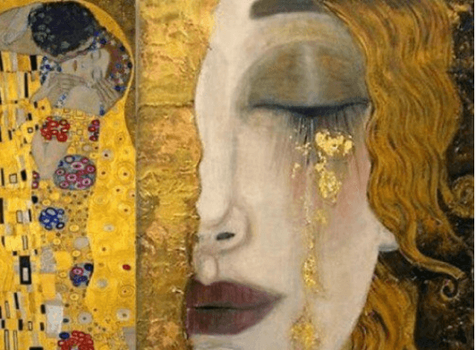 Χρόνια κατάθλιψη - Πίνακας με γυναίκα που κλαίει