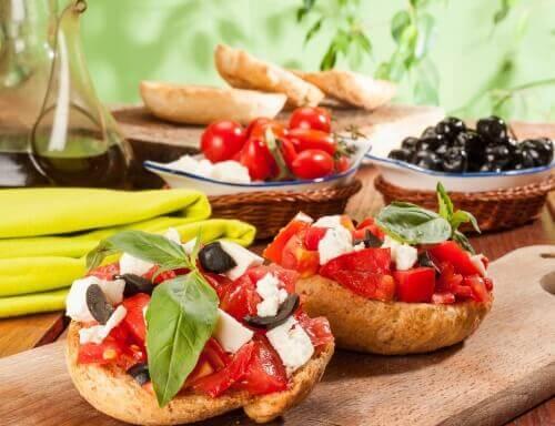 Αποκτήστε λεπτούς μηρούς - Μεσογειακή διατροφή, ντάκος