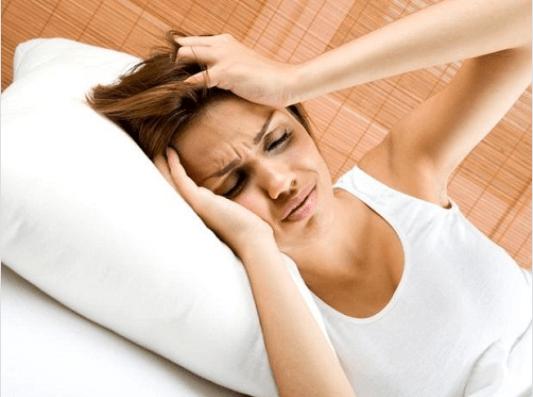 πονοκέφαλος με το συκώτι
