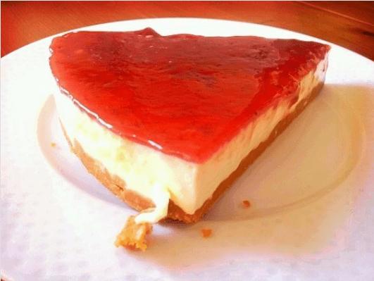 Λιγούρα για γλυκό - Κομμάτι cheesecake