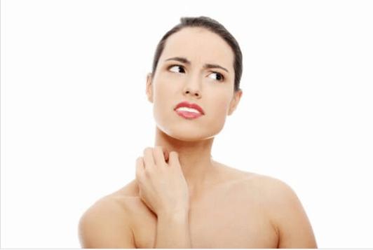 επιπτώσεις του θυμού στην υγεία - δερματίτιδα