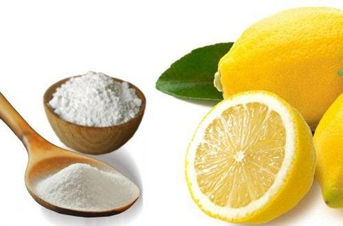 Μαγειρική σόδα και λεμόνια