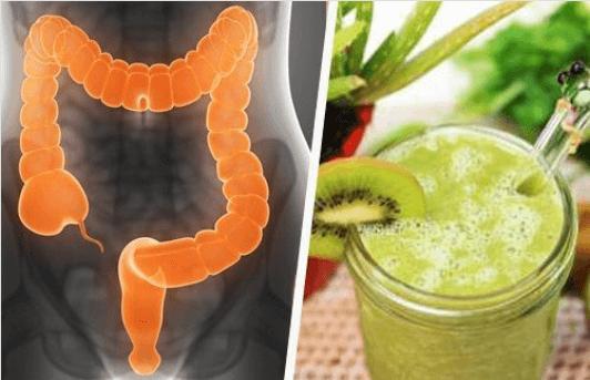 Μη υγιές παχύ έντερο - Παχύ έντερο και χυμός ακτινίδιο