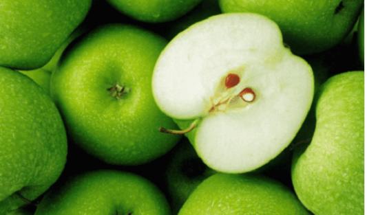 Υγιεινά φρούτα - Πράσινα μήλα