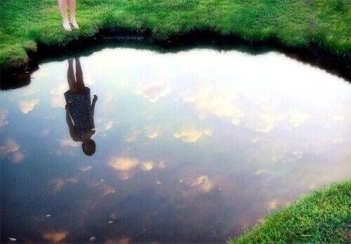 καθρεφτης όταν είστε λυπημένοι