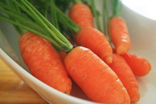 καρότα για την ανακούφιση από την αρθρίτιδα
