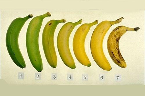 Ποια είναι πιο υγιεινή, η ώριμη ή η πράσινη μπανάνα;
