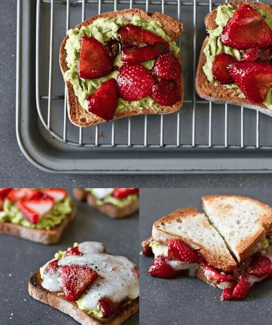 απολαύσετε τα αβοκάντο και φράουλες