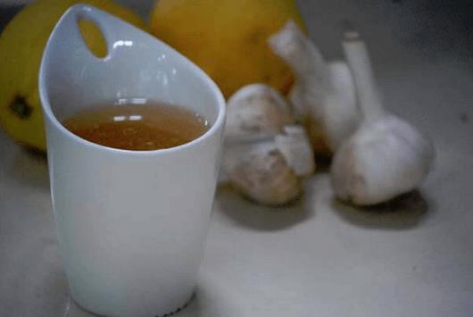 αντιμετωπίσετε την υπέρταση - τσάι με σκόρδο