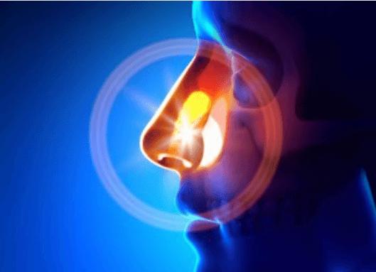 μύτη που πονά