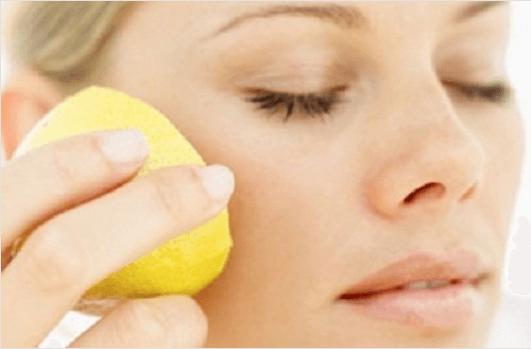 λεμόνια για την εξάλειψη των πανάδων