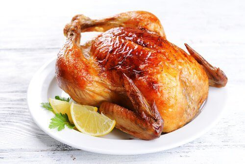 Τηγανιτό κοτόπουλο με λεμόνι