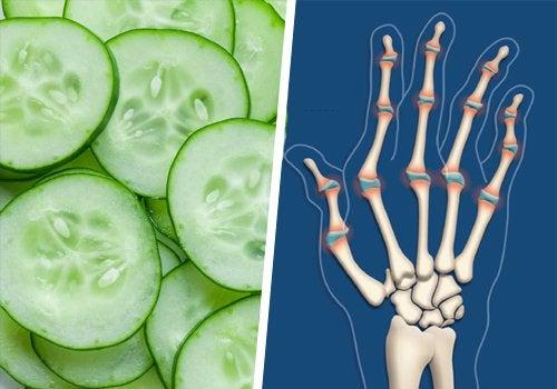 Νυχτερινός πόνος στις αρθρώσεις - Αγγούρι και αρθρώσεις