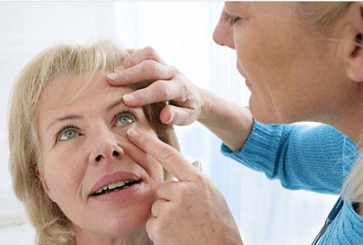 όρασή σας είναι θολή - καταρράκτης