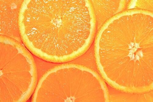 Διευρυμένοι πόροι - Φέτες πορτοκαλιού