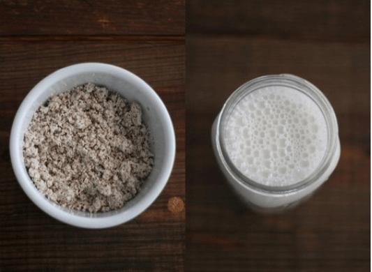 γάλα και βρώμη