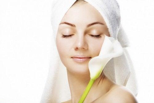 ωφέλειες του μηλόξυδου - δέρμα
