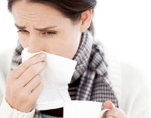 αιτίες πονοκεφάλου, κρύωμα